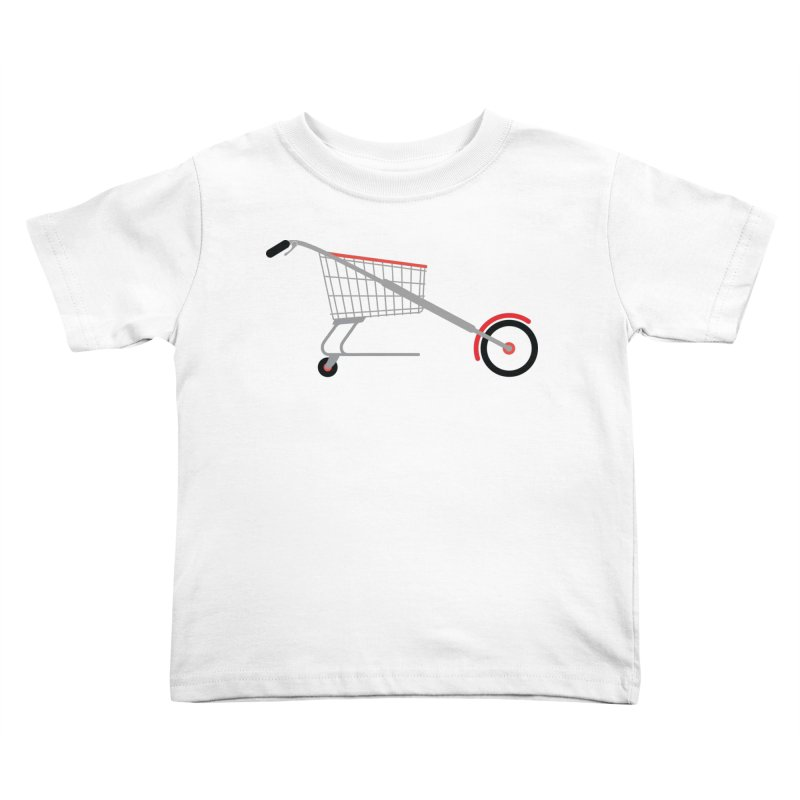 Shopper Kids Toddler T-Shirt by fdegrossi's Artist Shop