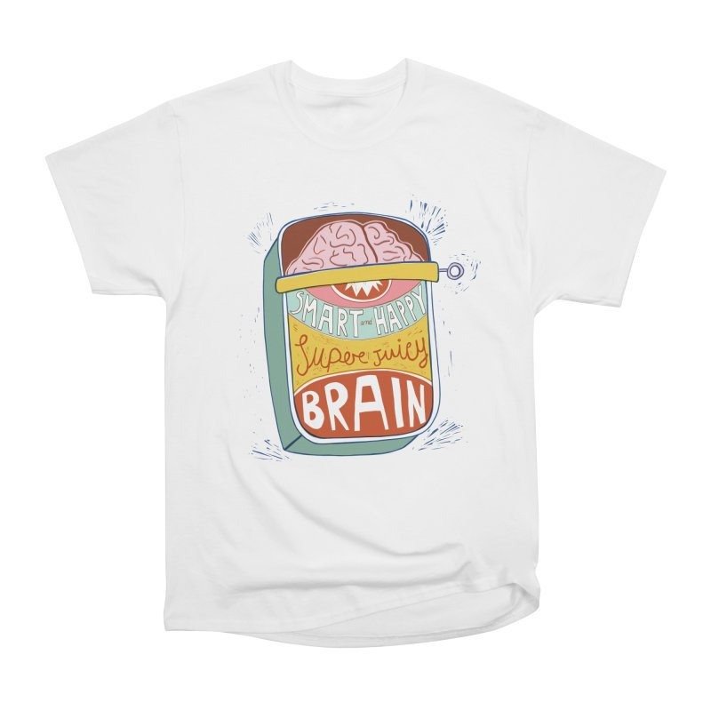 A brain in a can Men's T-Shirt by Federica Ubaldo's Soul Food Shop