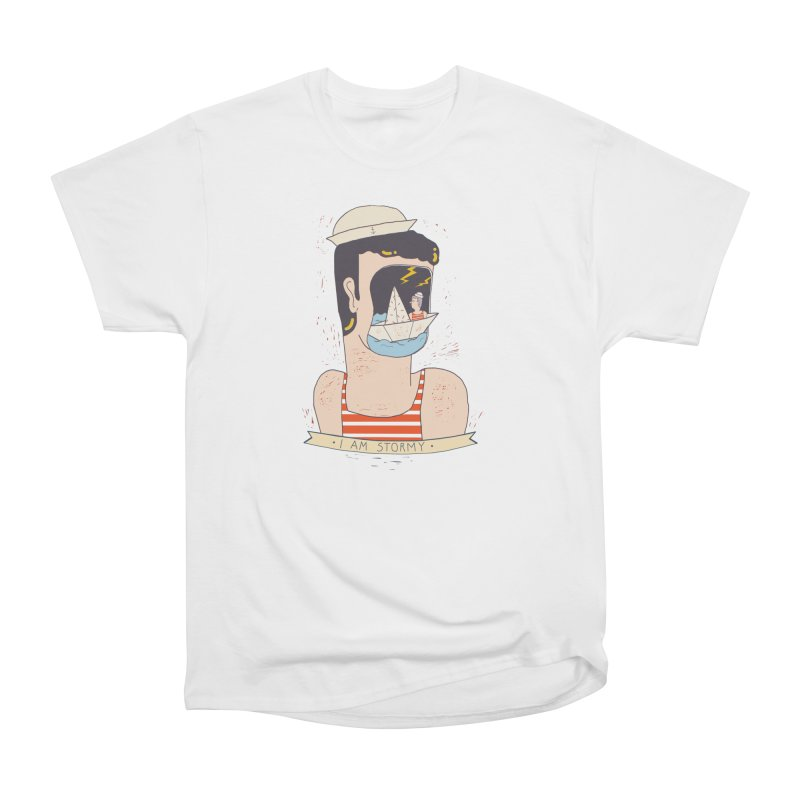 The stormy mariner Men's T-Shirt by Federica Ubaldo's Soul Food Shop