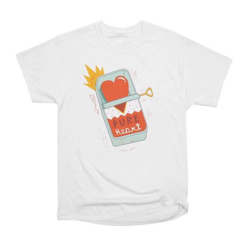 Canned Heart Men's T-Shirt by Federica Ubaldo's Soul Food Shop