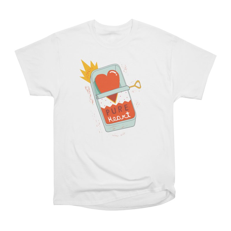 Canned Heart Men's T-Shirt by Federica Ubaldo's Soul Food Shop