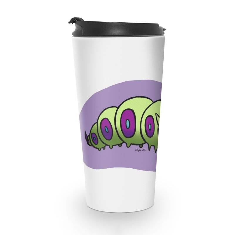 Caterpillar Accessories Travel Mug by Feeping Creatures Artist Shop