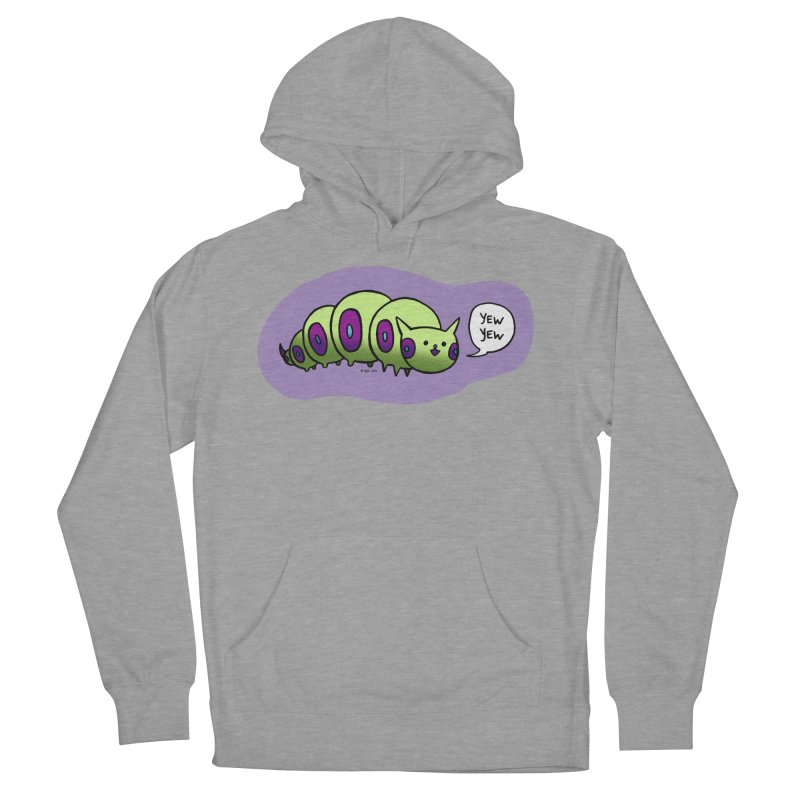 Caterpillar Men's French Terry Pullover Hoody by Feeping Creatures Artist Shop