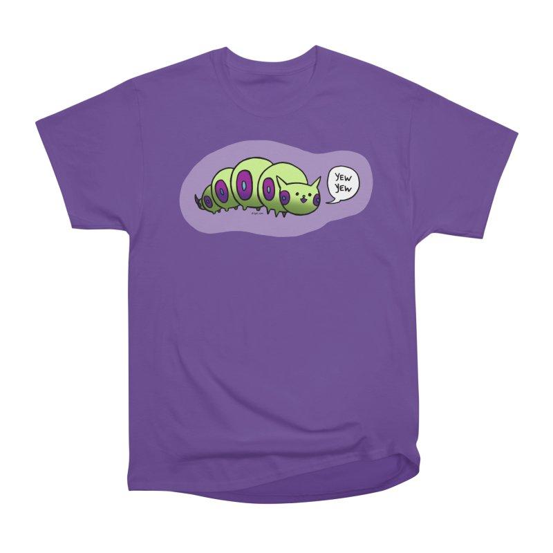 Caterpillar Men's Heavyweight T-Shirt by Feeping Creatures Artist Shop
