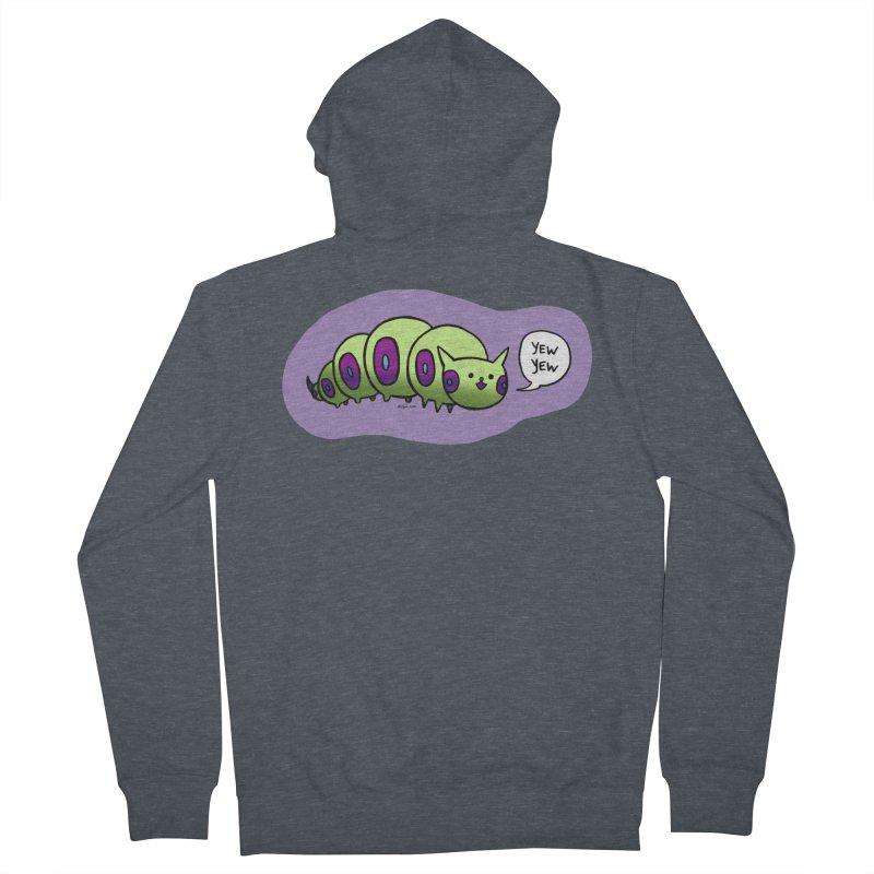 Caterpillar Men's French Terry Zip-Up Hoody by Feeping Creatures Artist Shop