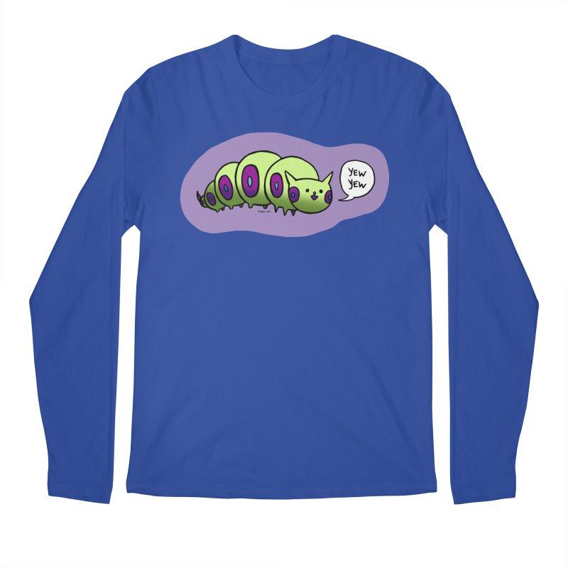 Caterpillar Men's Regular Longsleeve T-Shirt by Feeping Creatures Artist Shop