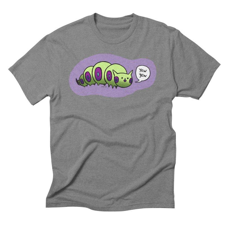 Caterpillar Men's Triblend T-Shirt by Feeping Creatures Artist Shop