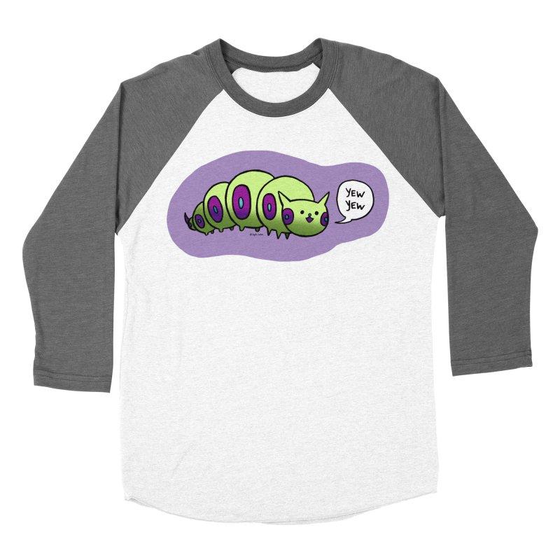 Caterpillar Women's Baseball Triblend Longsleeve T-Shirt by Feeping Creatures Artist Shop