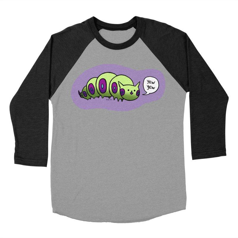 Caterpillar Men's Baseball Triblend T-Shirt by Feeping Creatures Artist Shop