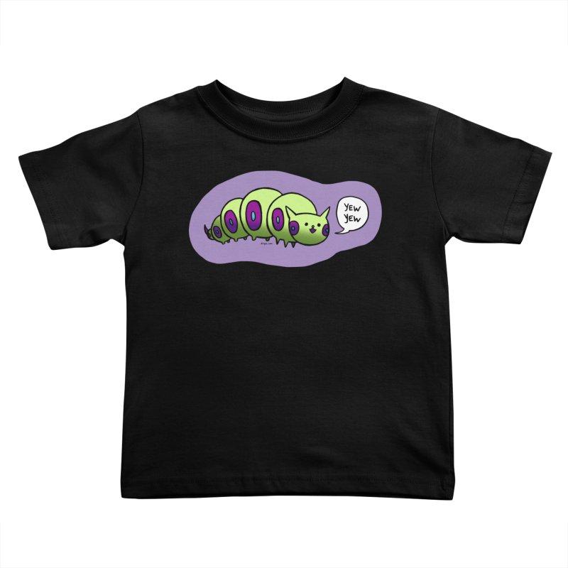 Caterpillar Kids Toddler T-Shirt by Feeping Creatures Artist Shop