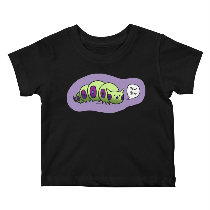 Caterpillar Kids Baby T-Shirt by Feeping Creatures Artist Shop