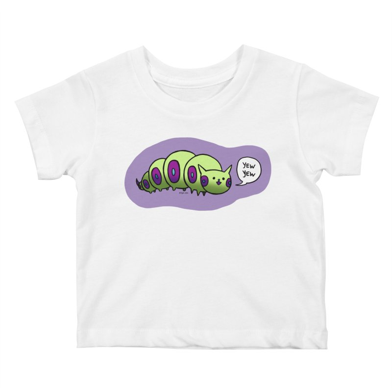 Caterpillar Kids Baby T-Shirt by Feeping Creatures Artist Shop