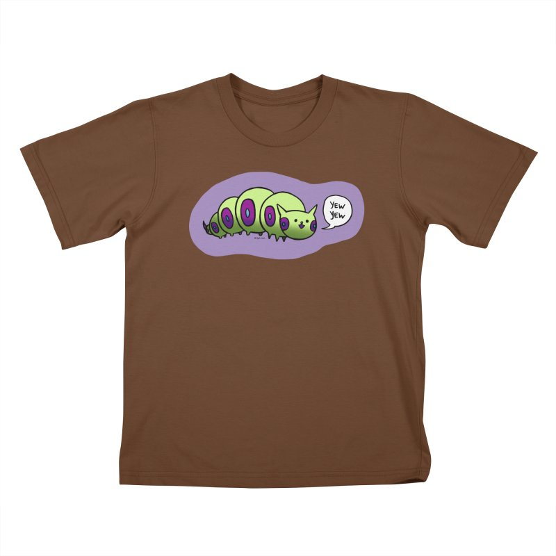Caterpillar Kids T-Shirt by Feeping Creatures Artist Shop