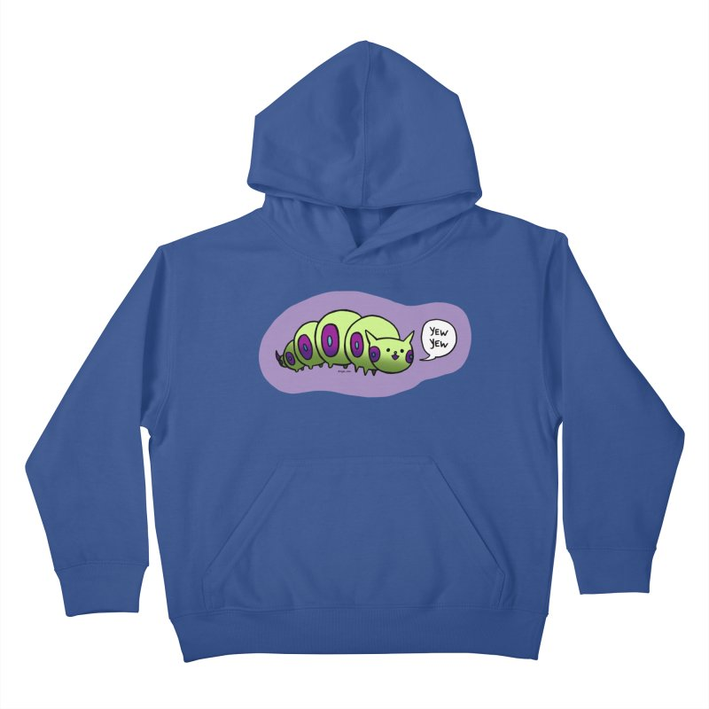 Caterpillar Kids Pullover Hoody by Feeping Creatures Artist Shop
