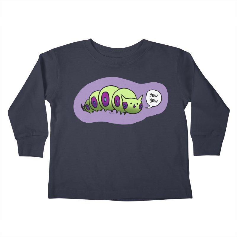 Caterpillar Kids Toddler Longsleeve T-Shirt by Feeping Creatures Artist Shop