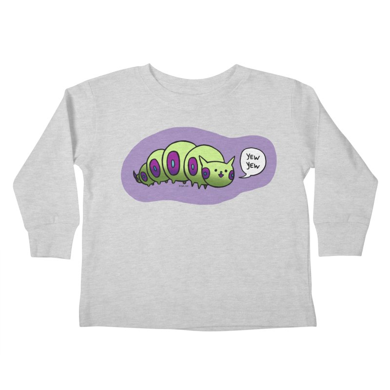 Caterpillar Kids Toddler Longsleeve T-Shirt by Feeping Creatures Artist Shop