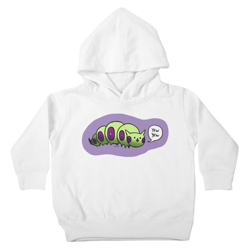 Caterpillar Kids Toddler Pullover Hoody by Feeping Creatures Artist Shop