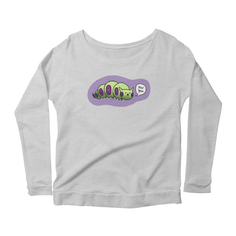 Caterpillar Women's Scoop Neck Longsleeve T-Shirt by Feeping Creatures Artist Shop