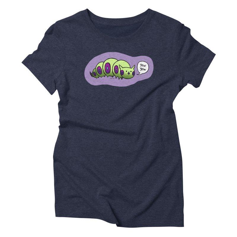 Caterpillar Women's Triblend T-Shirt by Feeping Creatures Artist Shop