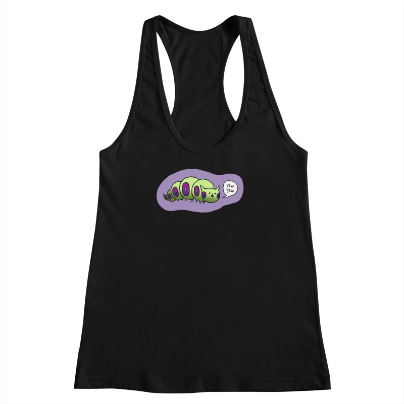 Caterpillar Women's Racerback Tank by Feeping Creatures Artist Shop