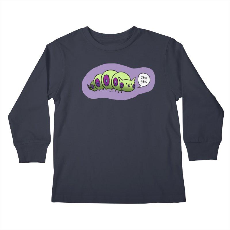 Caterpillar Kids Longsleeve T-Shirt by Feeping Creatures Artist Shop