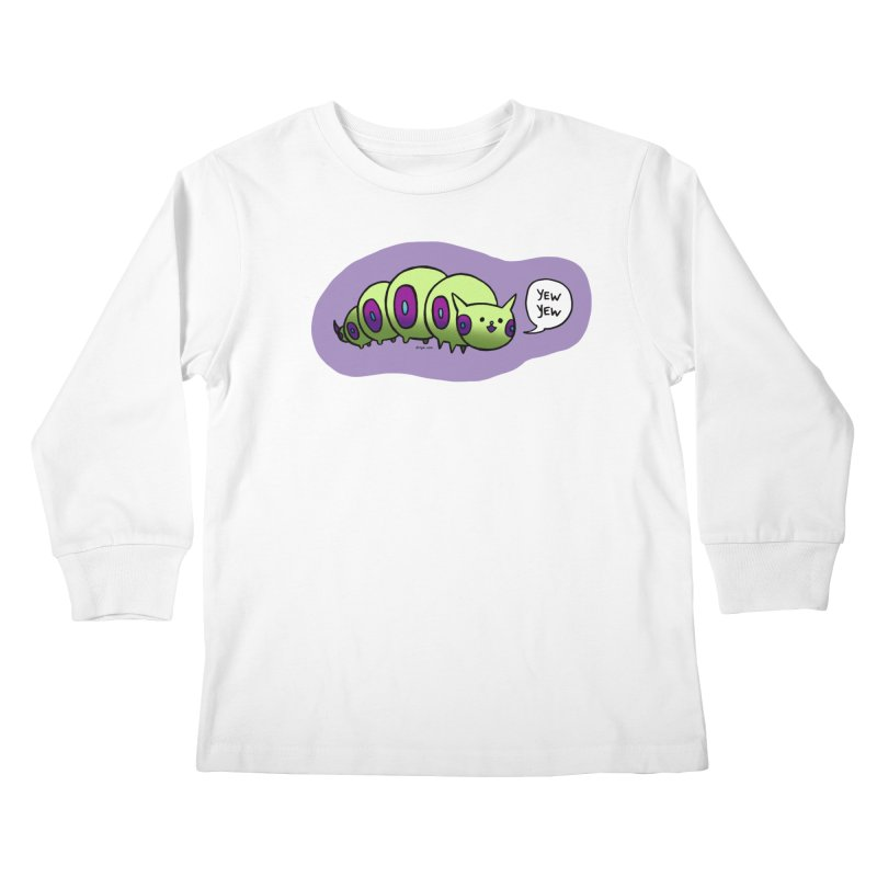 Caterpillar Kids Longsleeve T-Shirt by Feeping Creatures Artist Shop