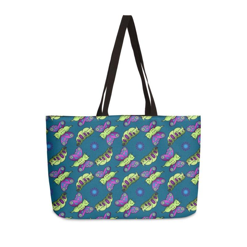 Caterpillar Accessories Weekender Bag Bag by Feeping Creatures Artist Shop