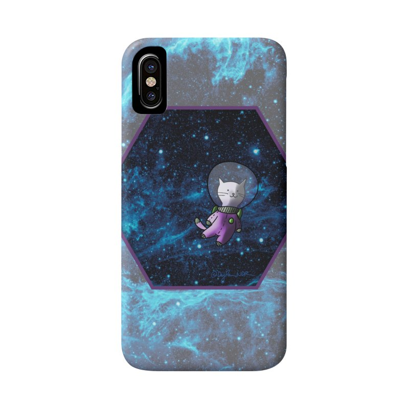 Buzz Nyaldrin the Catstronaut Accessories Phone Case by Feeping Creatures Artist Shop