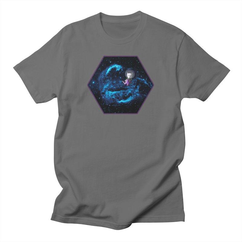 Buzz Nyaldrin the Catstronaut Men's T-Shirt by Feeping Creatures Artist Shop