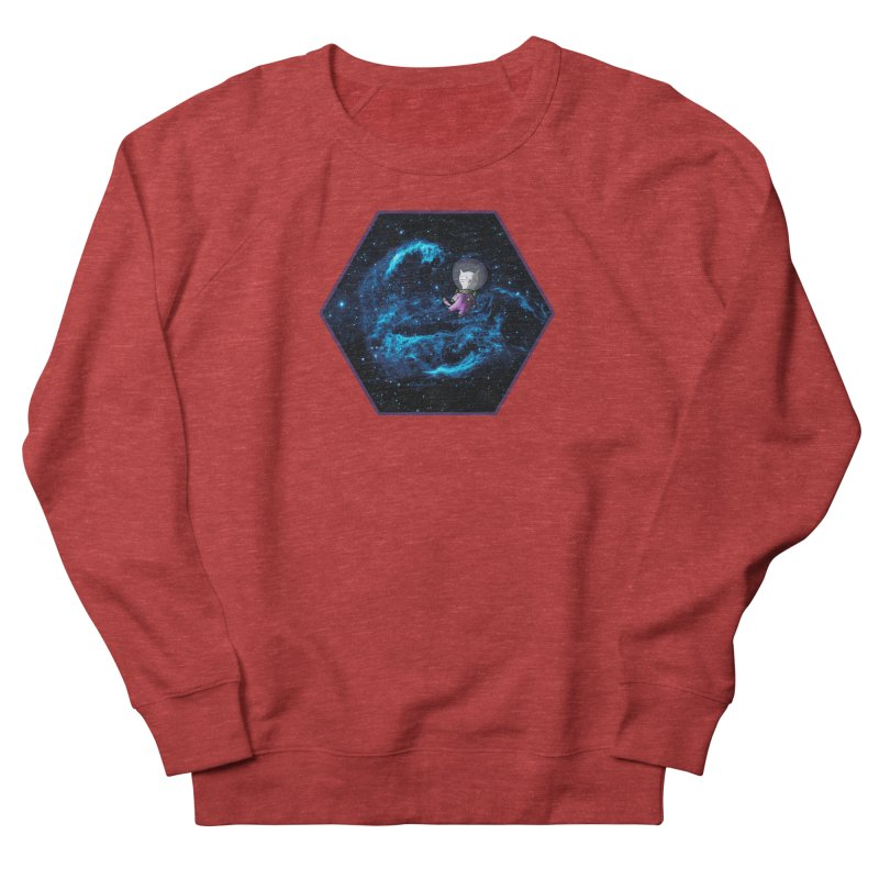 Buzz Nyaldrin the Catstronaut Women's Sweatshirt by Feeping Creatures Artist Shop