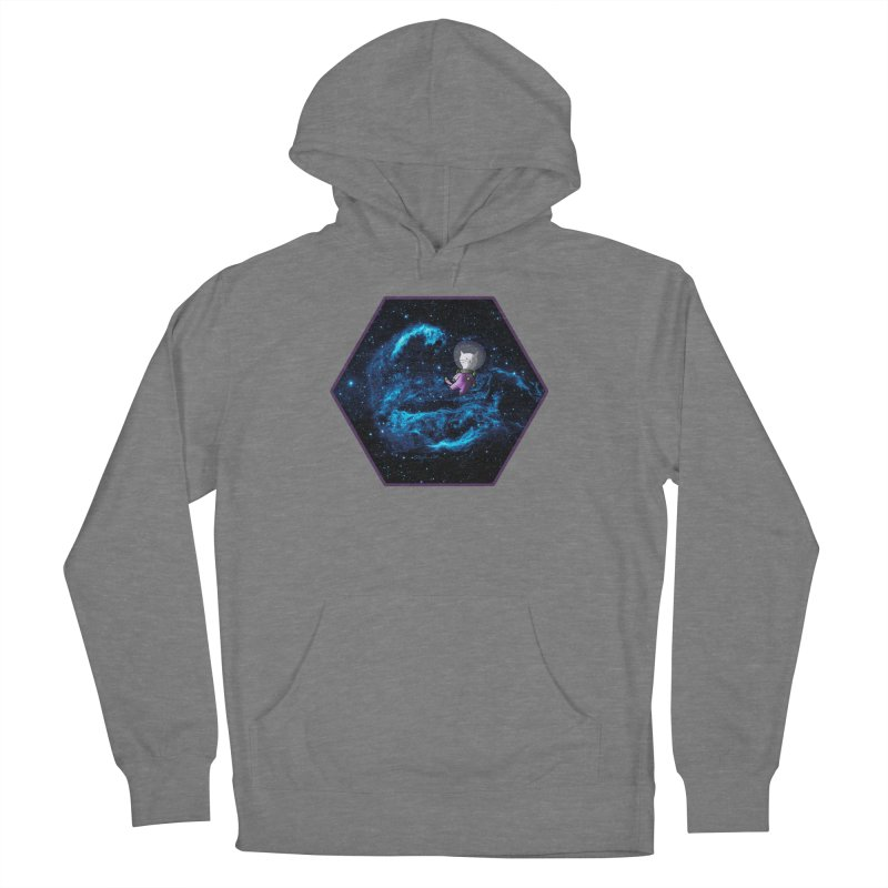 Buzz Nyaldrin the Catstronaut Men's French Terry Pullover Hoody by Feeping Creatures Artist Shop