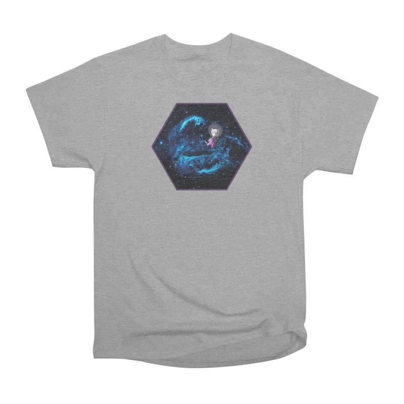 Buzz Nyaldrin the Catstronaut Men's Heavyweight T-Shirt by Feeping Creatures Artist Shop