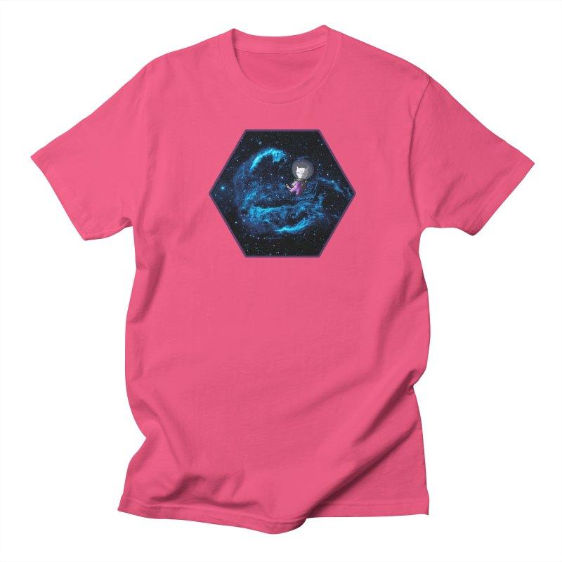 Buzz Nyaldrin the Catstronaut Men's Regular T-Shirt by Feeping Creatures Artist Shop
