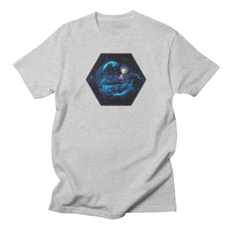 Buzz Nyaldrin the Catstronaut Women's Regular Unisex T-Shirt by Feeping Creatures Artist Shop