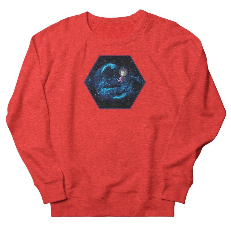 Buzz Nyaldrin the Catstronaut Women's Sweatshirt by Feeping Creatures Artist Shop