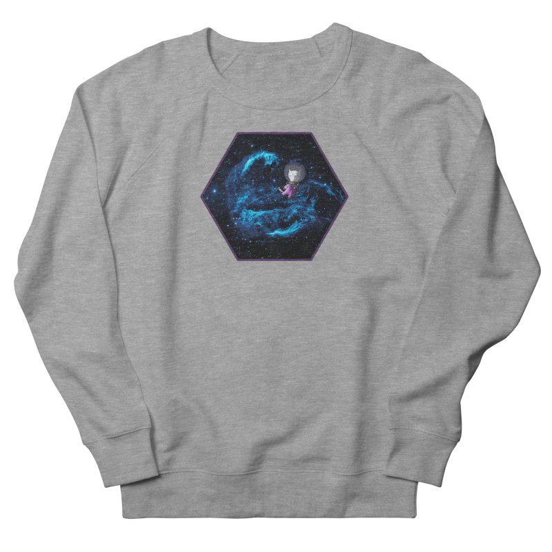 Buzz Nyaldrin the Catstronaut Women's French Terry Sweatshirt by Feeping Creatures Artist Shop