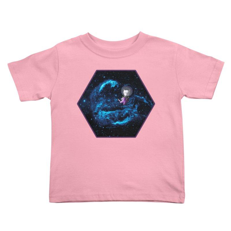 Buzz Nyaldrin the Catstronaut Kids Toddler T-Shirt by Feeping Creatures Artist Shop