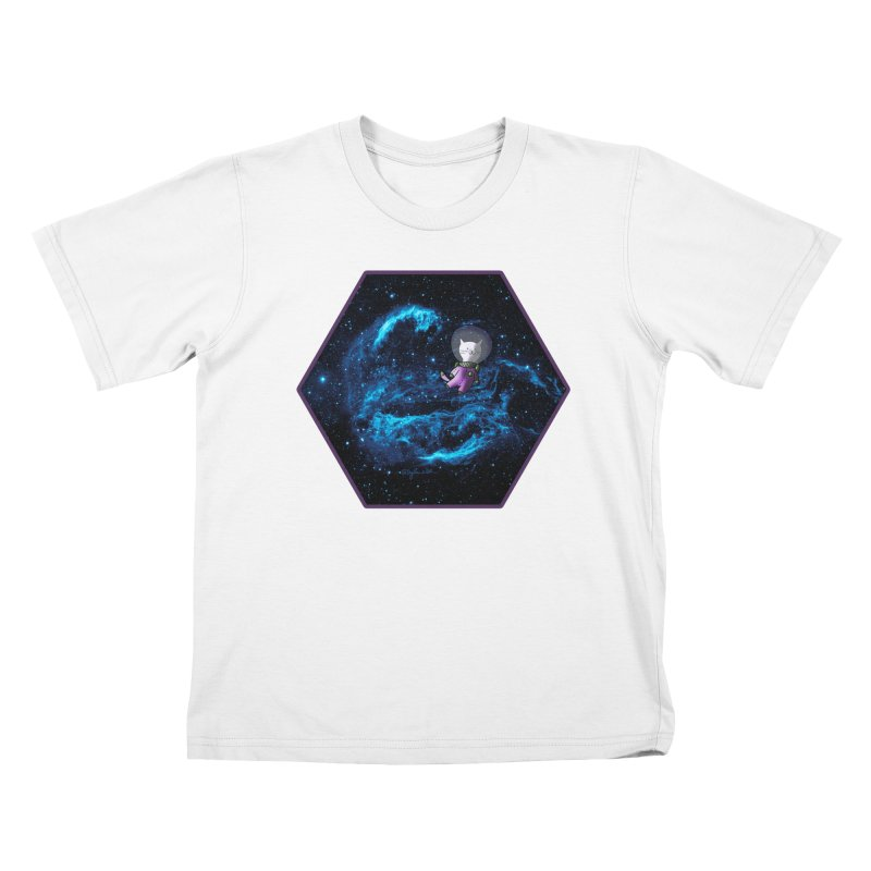 Buzz Nyaldrin the Catstronaut Kids T-Shirt by Feeping Creatures Artist Shop