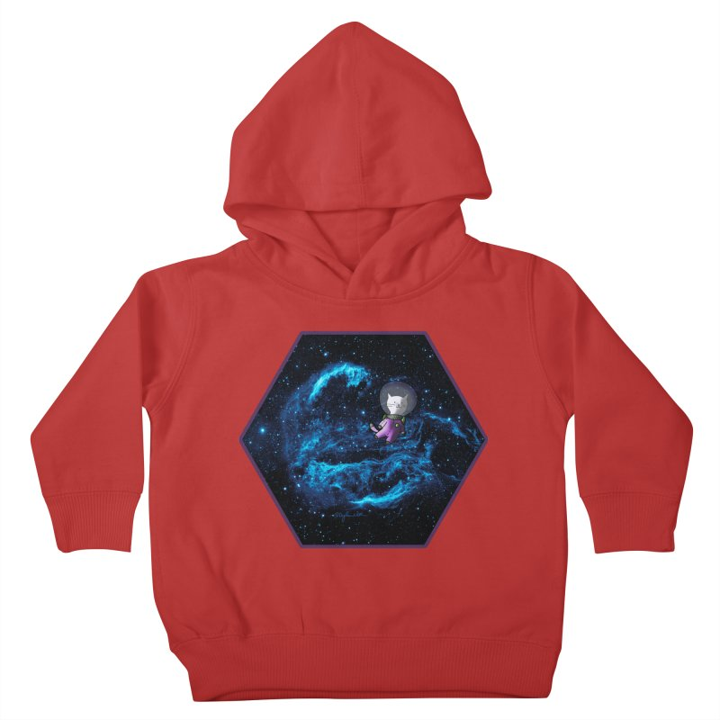 Buzz Nyaldrin the Catstronaut Kids Toddler Pullover Hoody by Feeping Creatures Artist Shop