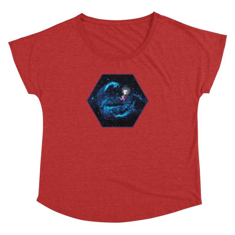 Buzz Nyaldrin the Catstronaut Women's Dolman by Feeping Creatures Artist Shop