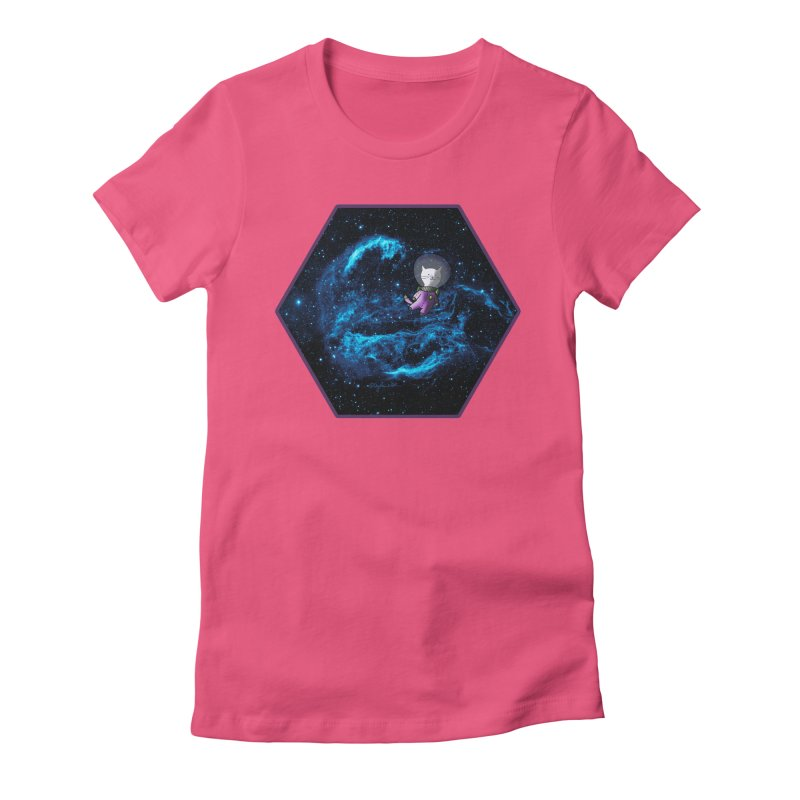 Buzz Nyaldrin the Catstronaut Women's T-Shirt by Feeping Creatures Artist Shop