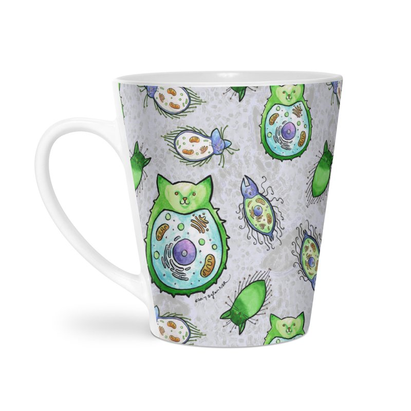 Toxoplasmoids Accessories Latte Mug by Feeping Creatures Artist Shop