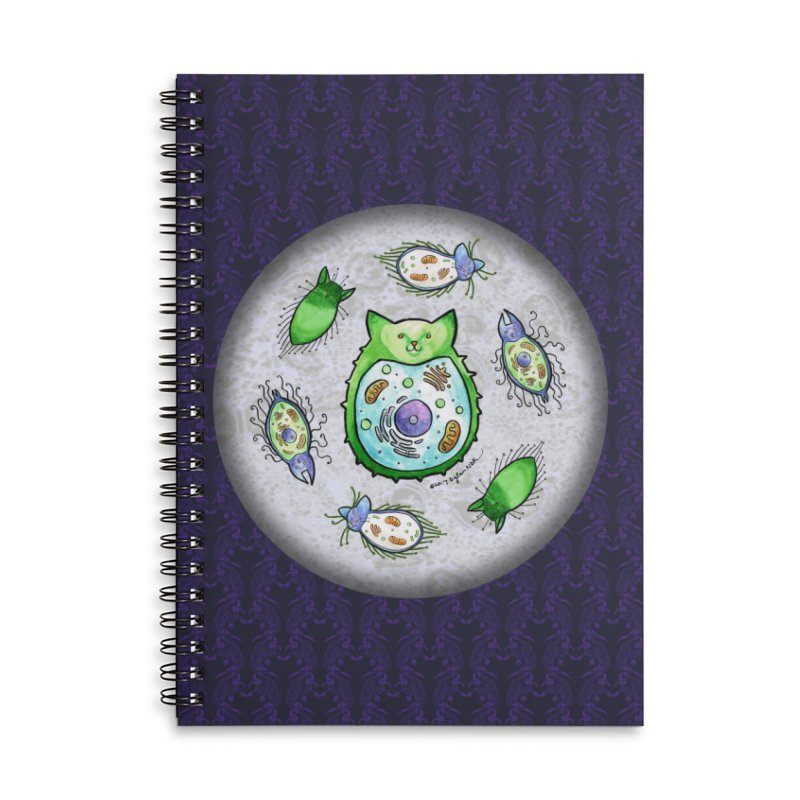 Toxoplasmoids Accessories Lined Spiral Notebook by Feeping Creatures Artist Shop