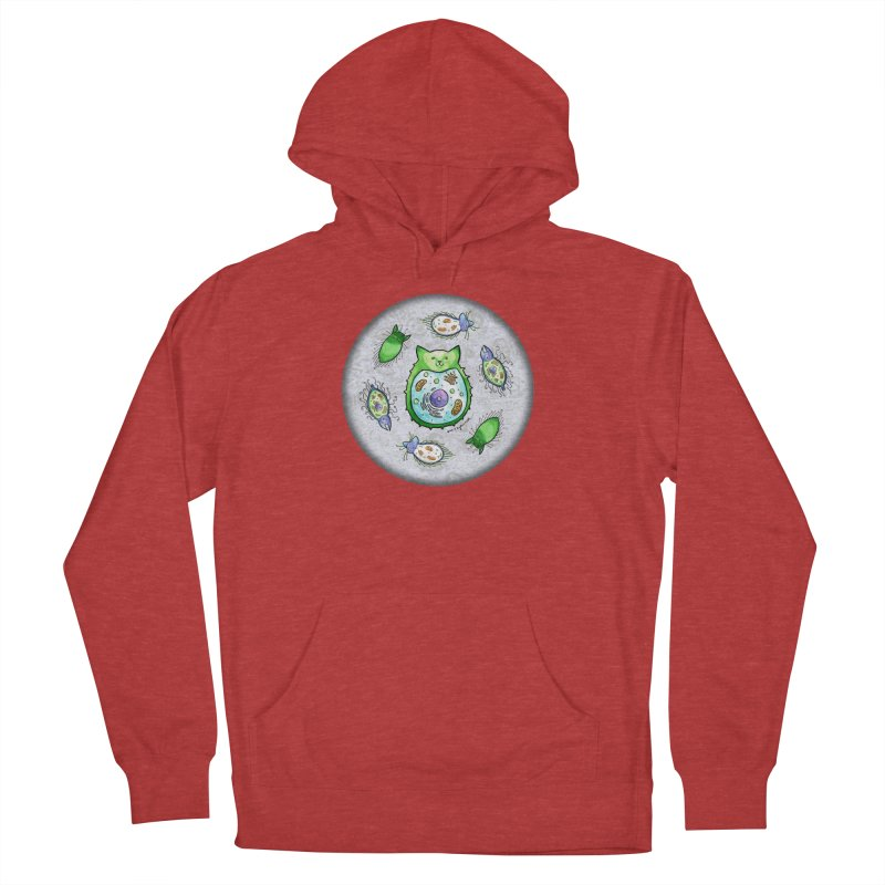 Toxoplasmoids Women's French Terry Pullover Hoody by Feeping Creatures Artist Shop