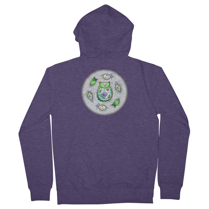 Toxoplasmoids Men's French Terry Zip-Up Hoody by Feeping Creatures Artist Shop