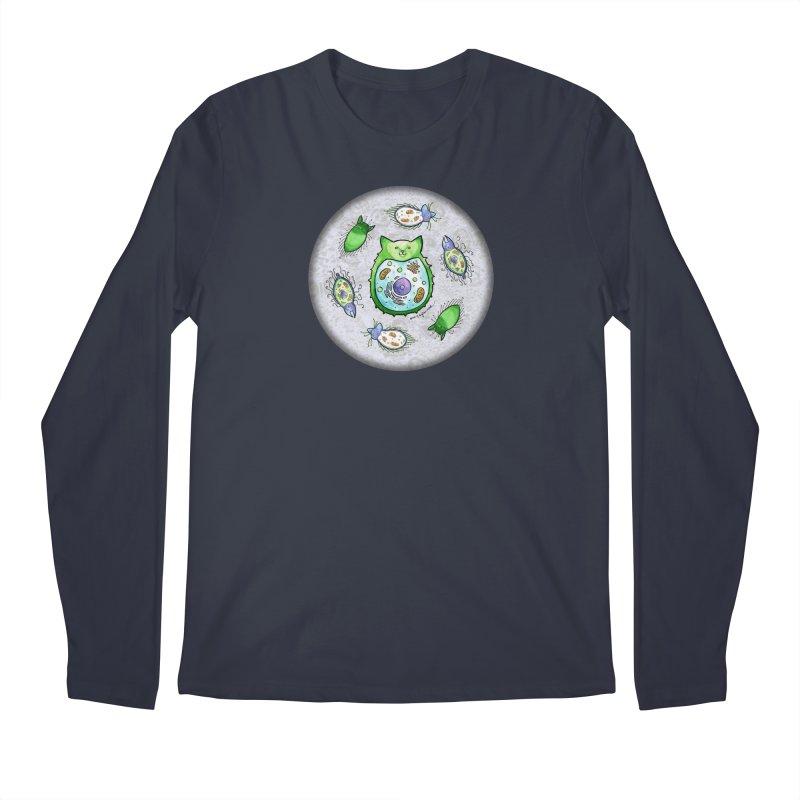 Toxoplasmoids Men's Regular Longsleeve T-Shirt by Feeping Creatures Artist Shop