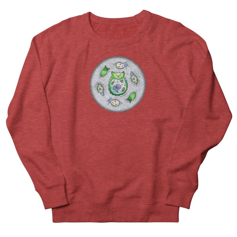 Toxoplasmoids Men's French Terry Sweatshirt by Feeping Creatures Artist Shop