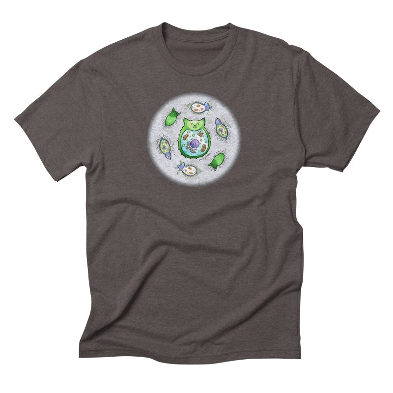 Toxoplasmoids Men's Triblend T-Shirt by Feeping Creatures Artist Shop