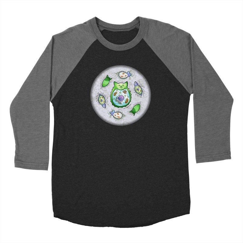 Toxoplasmoids Men's Baseball Triblend Longsleeve T-Shirt by Feeping Creatures Artist Shop