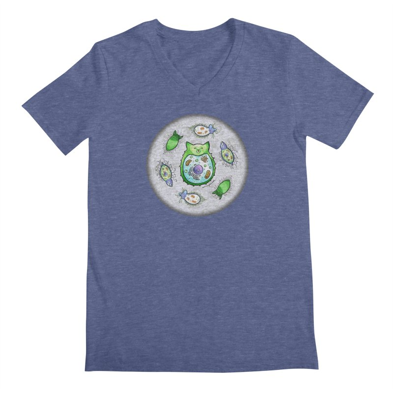 Toxoplasmoids Men's V-Neck by Feeping Creatures Artist Shop